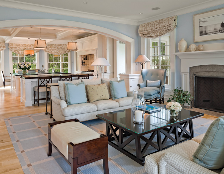 The Living Room Trend